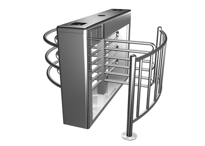 Indoor / Outdoor Mechanical Half Height Turnstile With Single / Bi-Direction