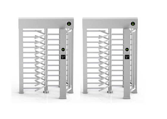 Largeur de 24VDC 40W 30person/Min Full Body Turnstile 610mm